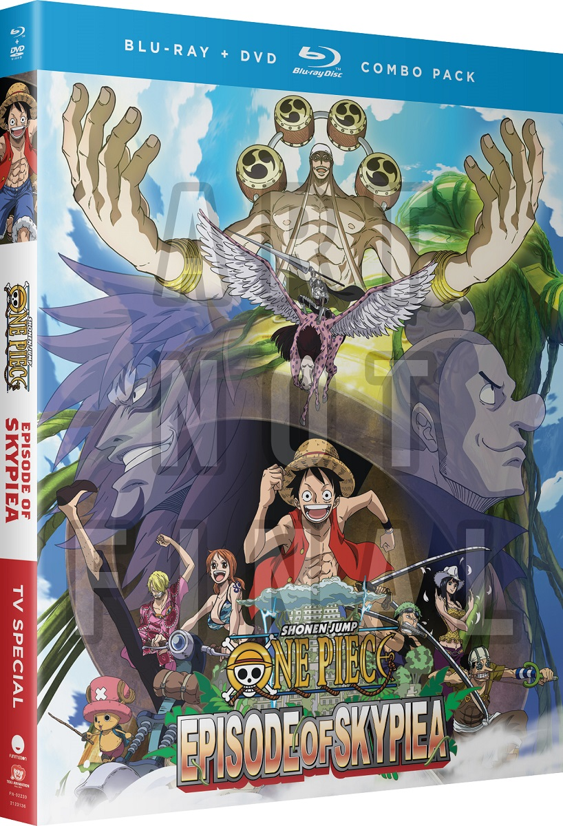 One Piece Episode of Skypiea TV Special Blu-ray/DVD