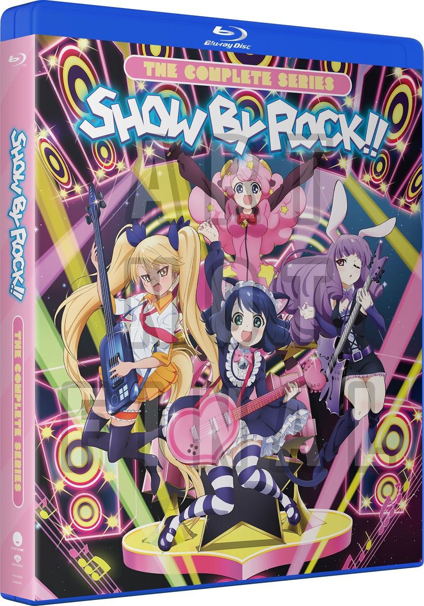 Show By Rock!! Complete Series Blu-ray