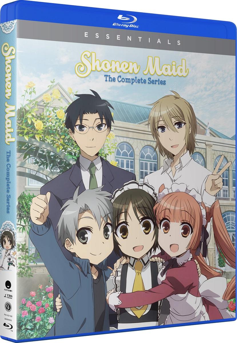 Shonen Maid Essentials Blu-ray