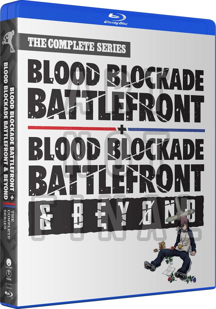 Blood Blockade Battlefront and Battlefront & Beyond Blu-ray