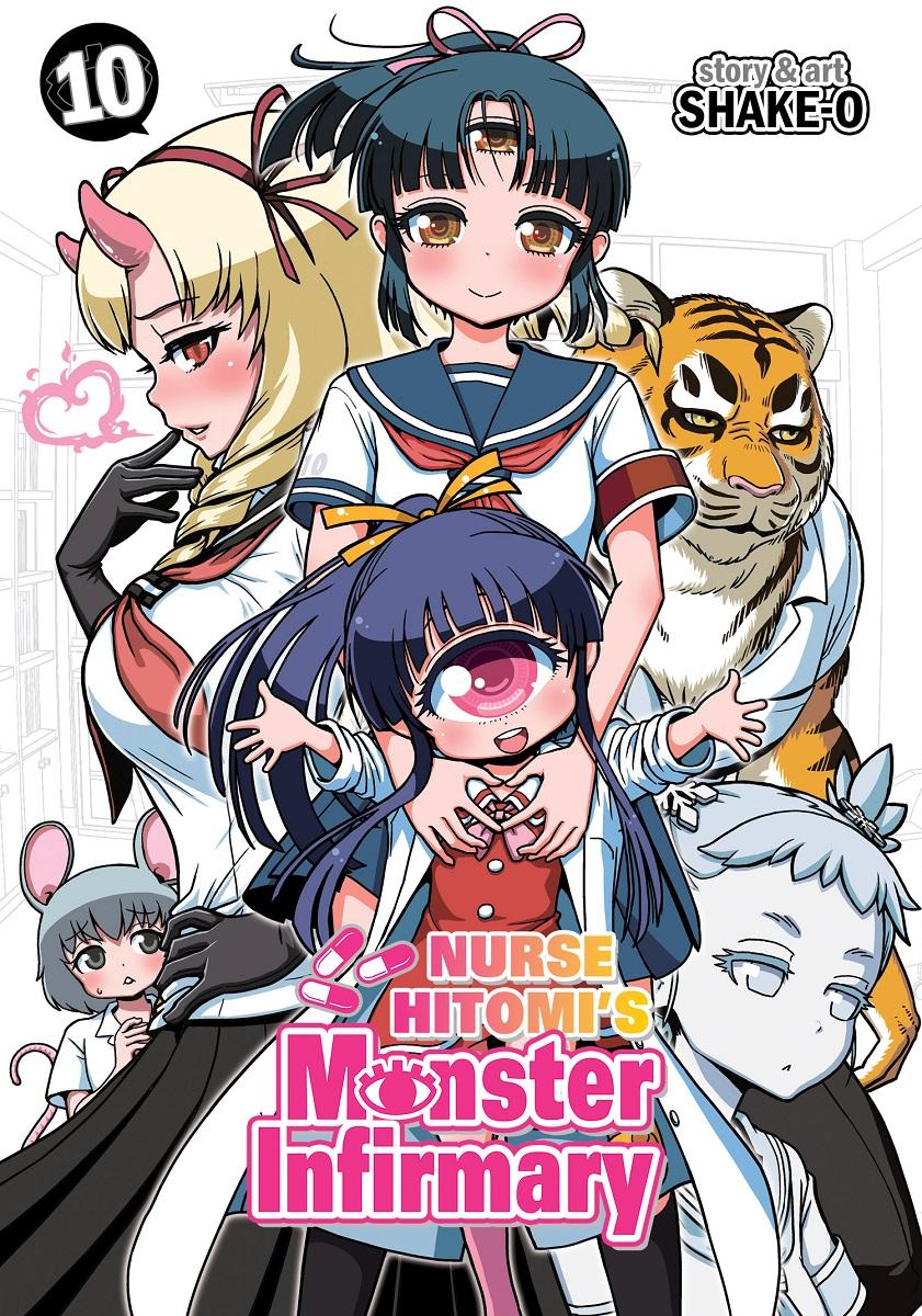 Nurse Hitomis Monster Infirmary Manga Volume 10