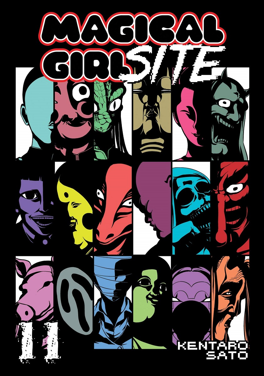 Magical Girl Site Manga Volume 11