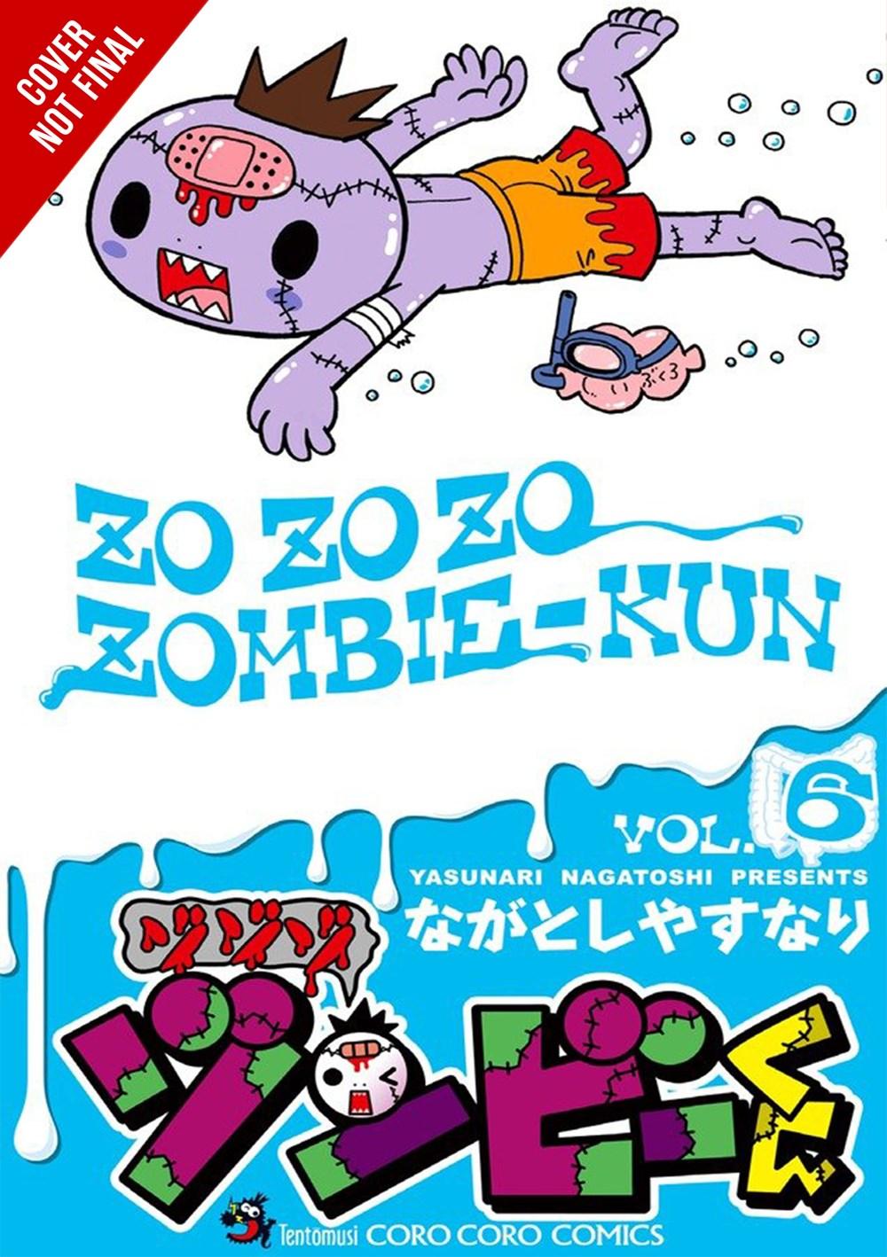 Zo Zo Zombie Manga Volume 6