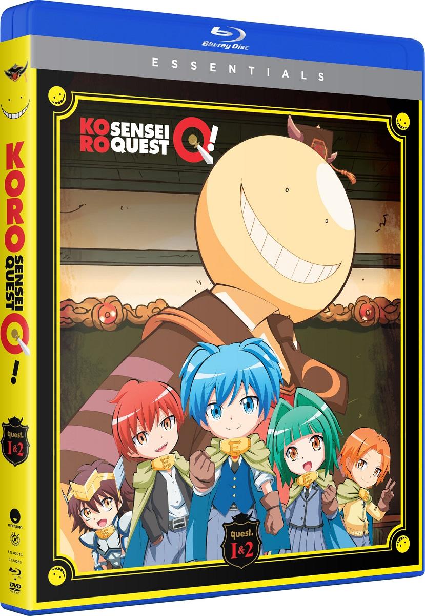 Koro Sensei Quest! Essentials Blu-ray