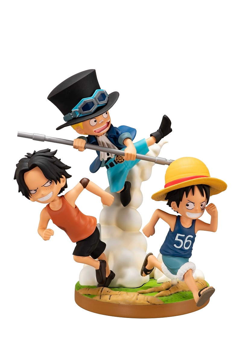The Bonds of Brothers Childhood Ver One Piece Ichiban Figure