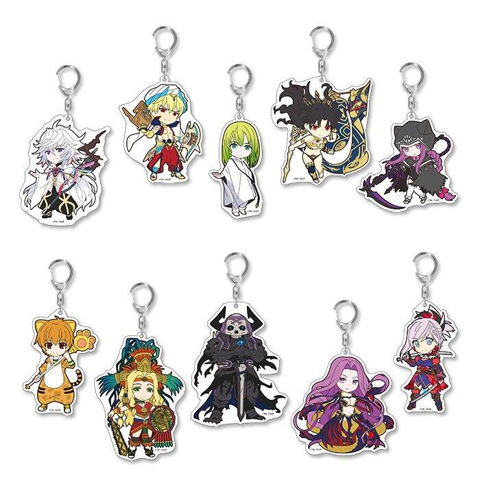 Fate/Grand Order Vol 5 (Re-Run) Trading Acrylic Keychain Blind Box