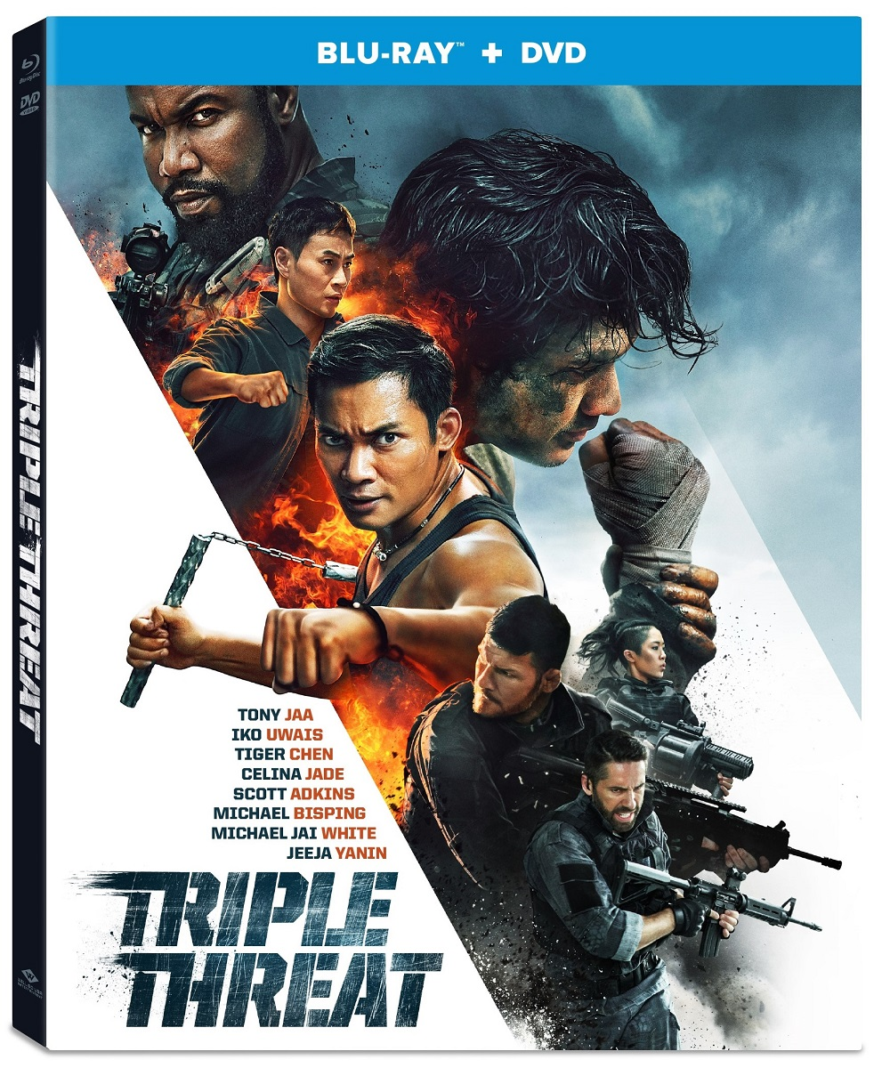 Triple Threat Blu-ray/DVD