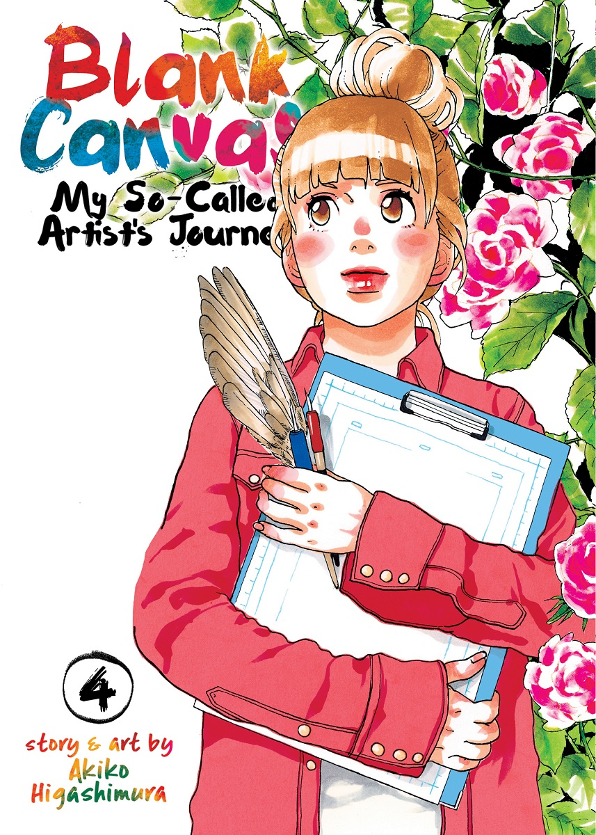 Blank Canvas My So-Called Artist%u2019s Journey Manga Volume 4