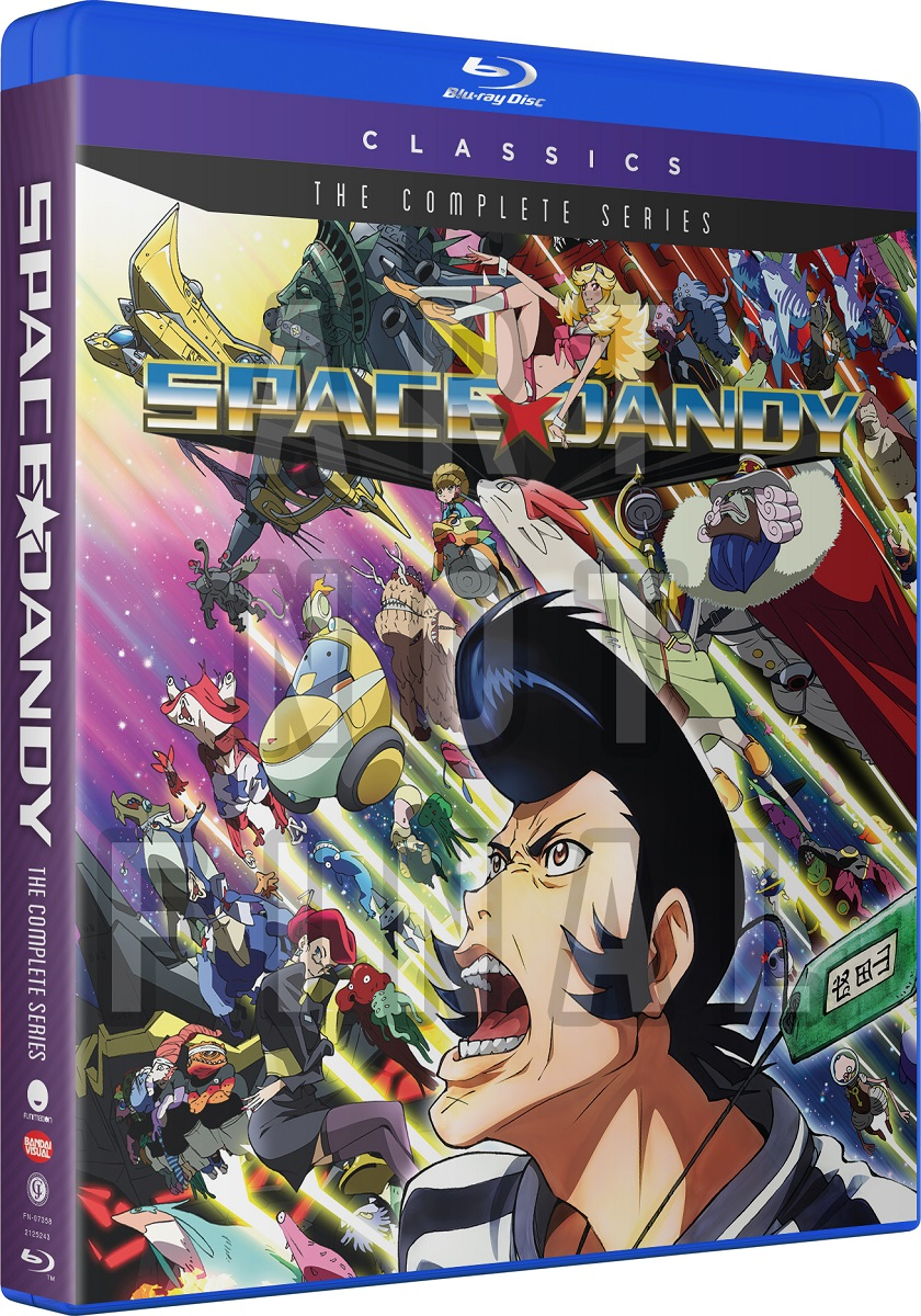 Space Dandy Complete Series Classics Blu-ray