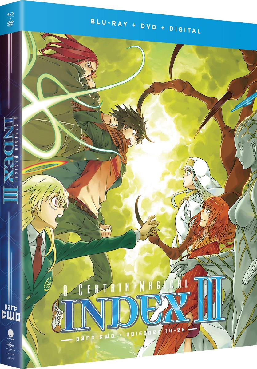 A Certain Magical Index Season 3 Part 2 Blu-ray/DVD