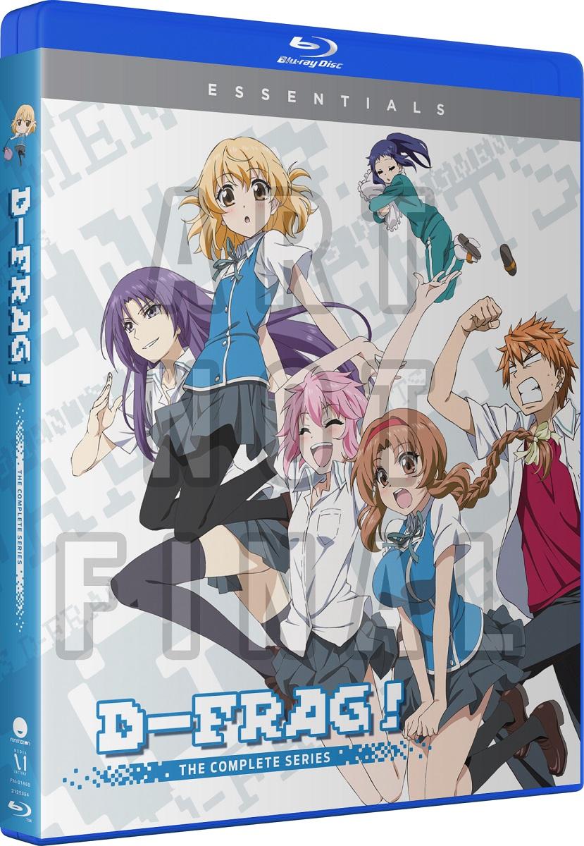 D-Frag! Essentials Blu-ray