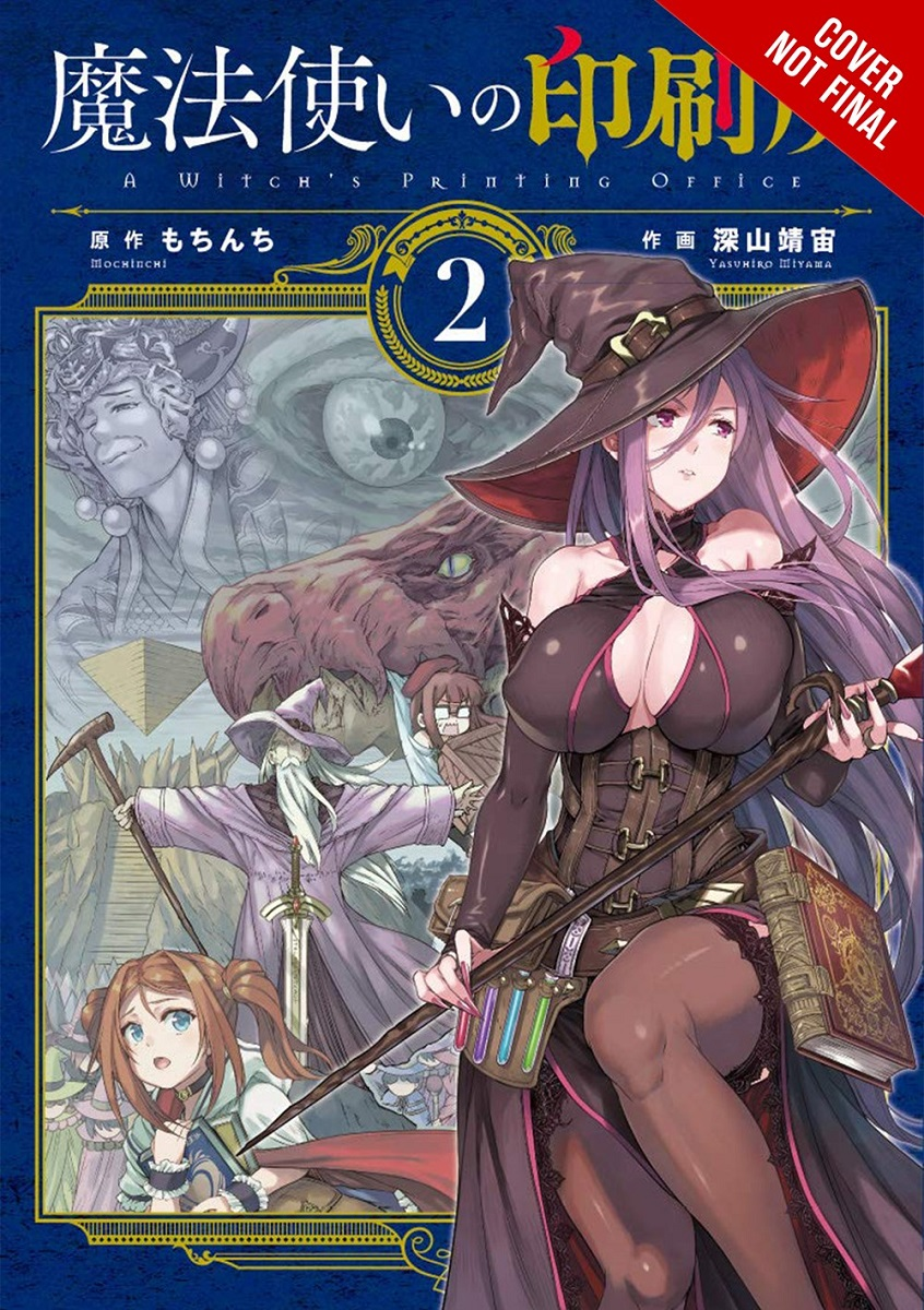 A Witchs Printing Office Manga Volume 2