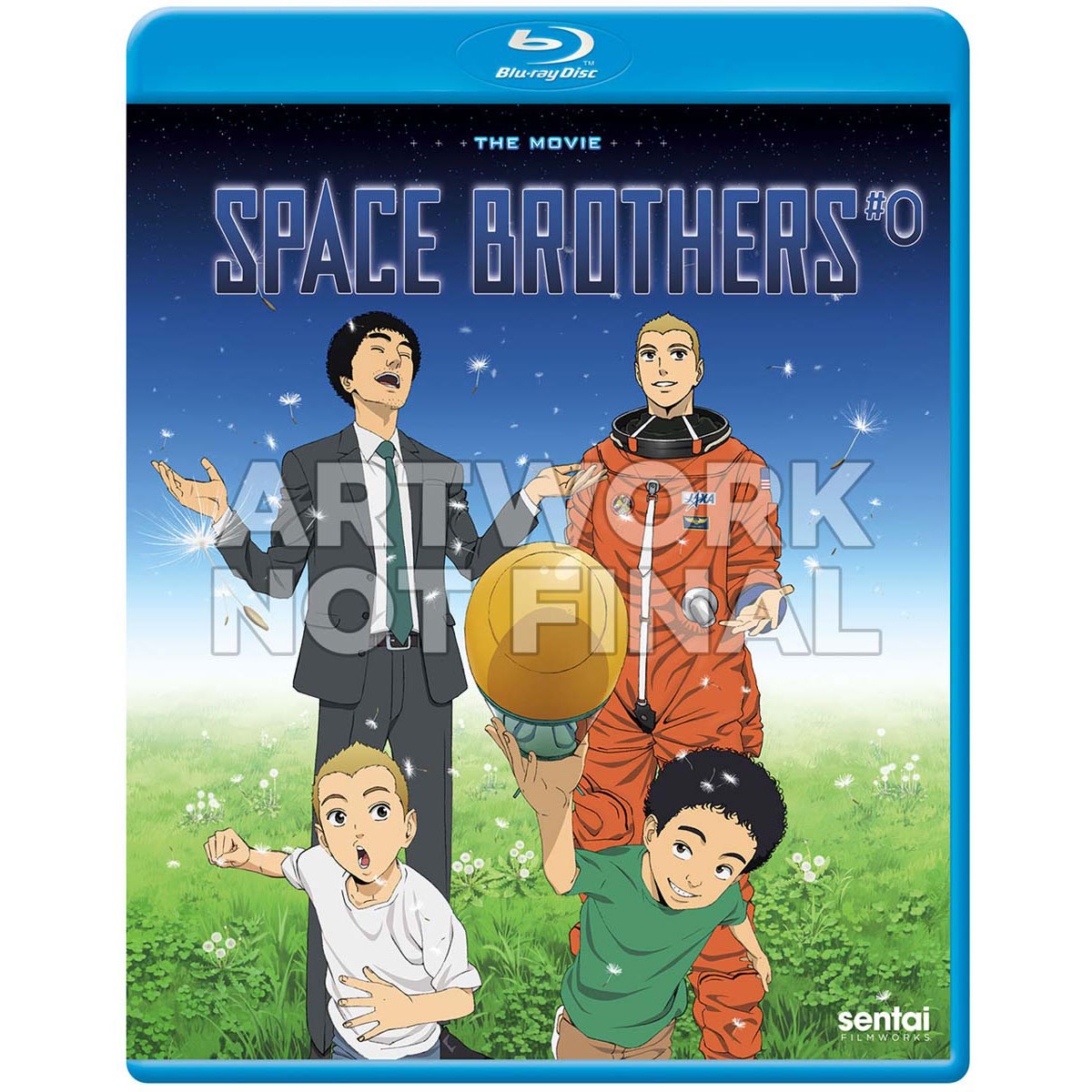 Space Brothers #0 Blu-ray