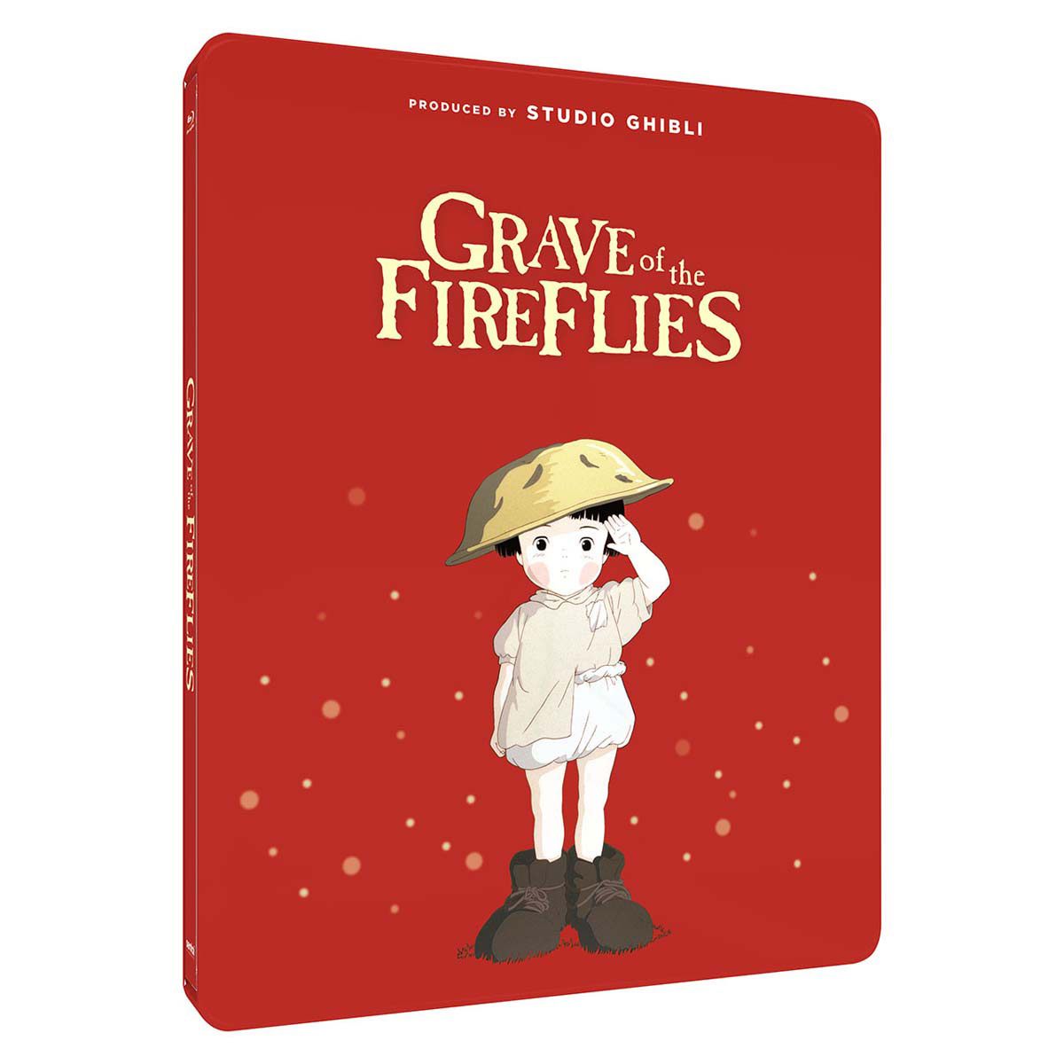 Grave of the Fireflies Steelbook Blu-ray