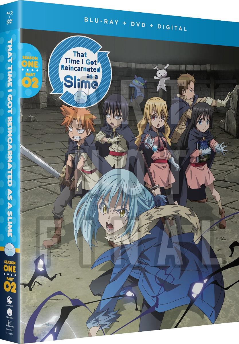 That Time I Got Reincarnated As A Slime Season 1 Part 2 Blu-ray/DVD