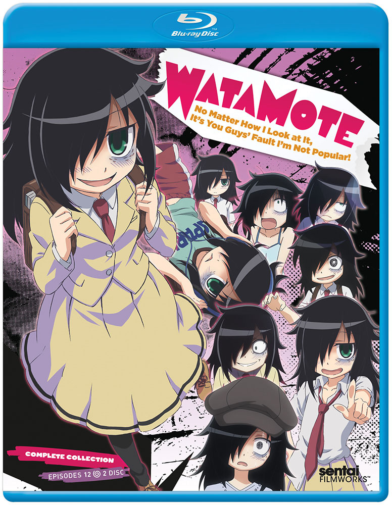 Watamote No Matter How I Look At It, Its Your Guys Fault Im Not Popular Blu-ray