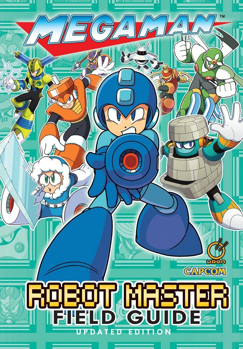 Mega Man Robot Master Field Guide Updated Edition Artbook (Hardcover)