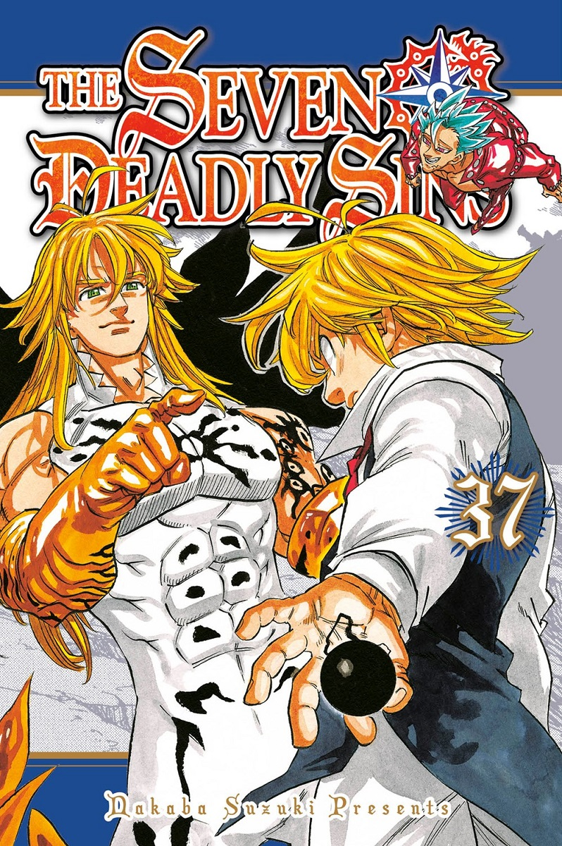 The Seven Deadly Sins Manga Volume 37
