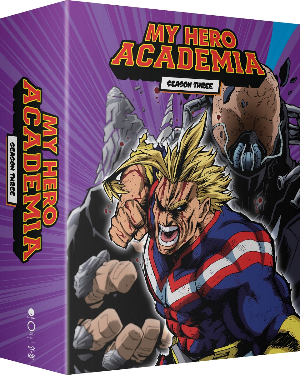 My Hero Academia Season 3 Part 1 Limited Edition BD/DVD