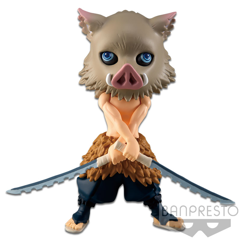 Inosuke Hashibira Demon Slayer Q Posket Petit Prize Figure