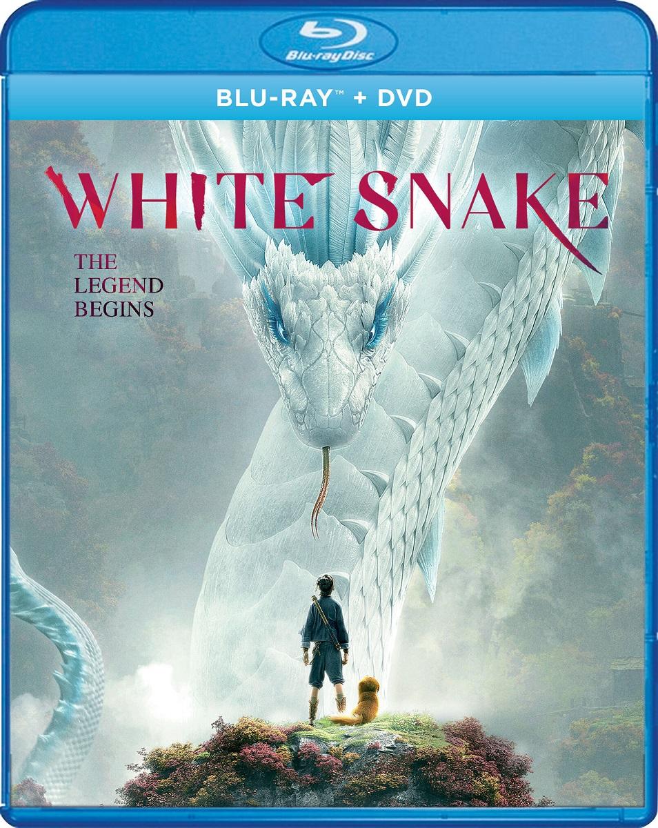 White Snake Blu-ray/DVD
