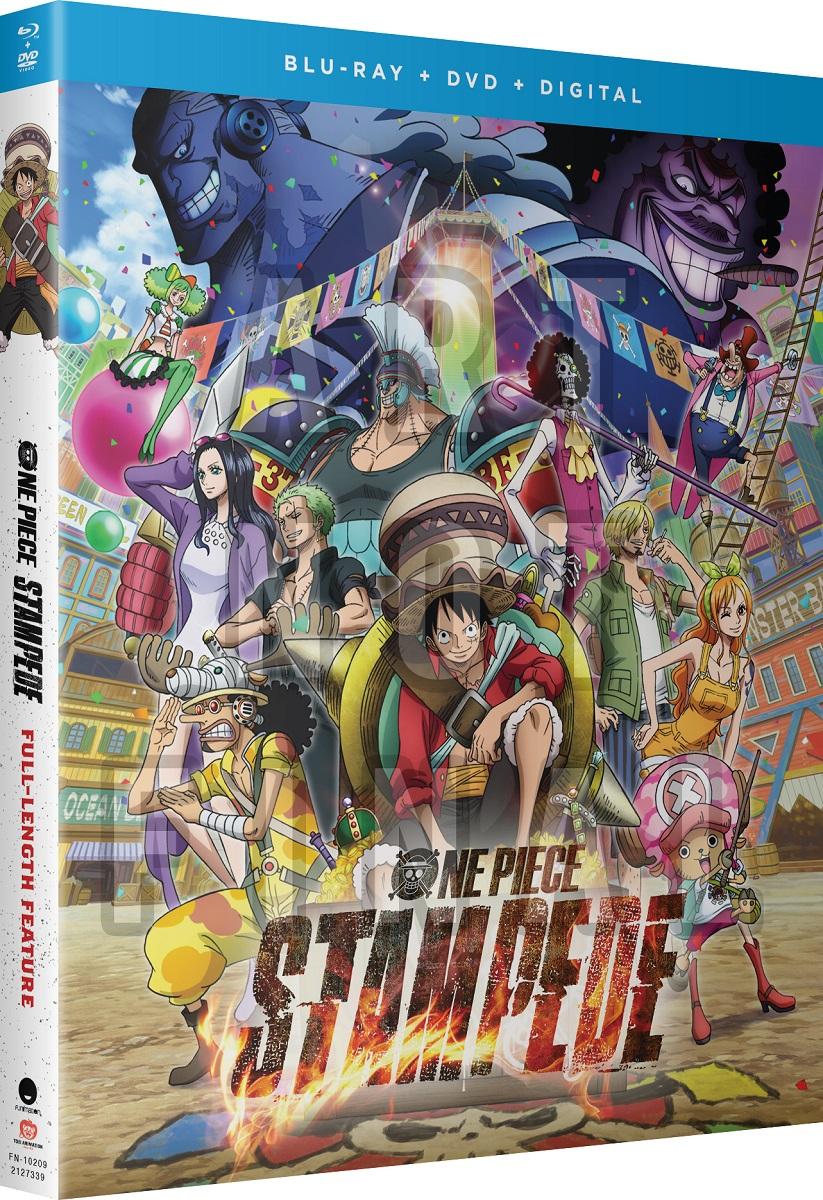 One Piece Film Stampede Blu-ray/DVD + GWP