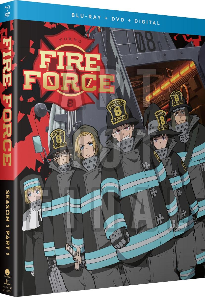 Fire Force Season 1 Part 1 Blu-ray/DVD