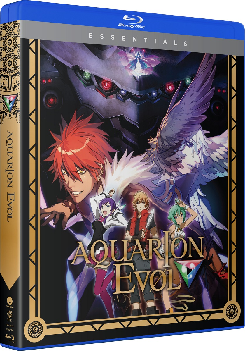 Aquarion EVOL Season 2 Essentials Blu-Ray