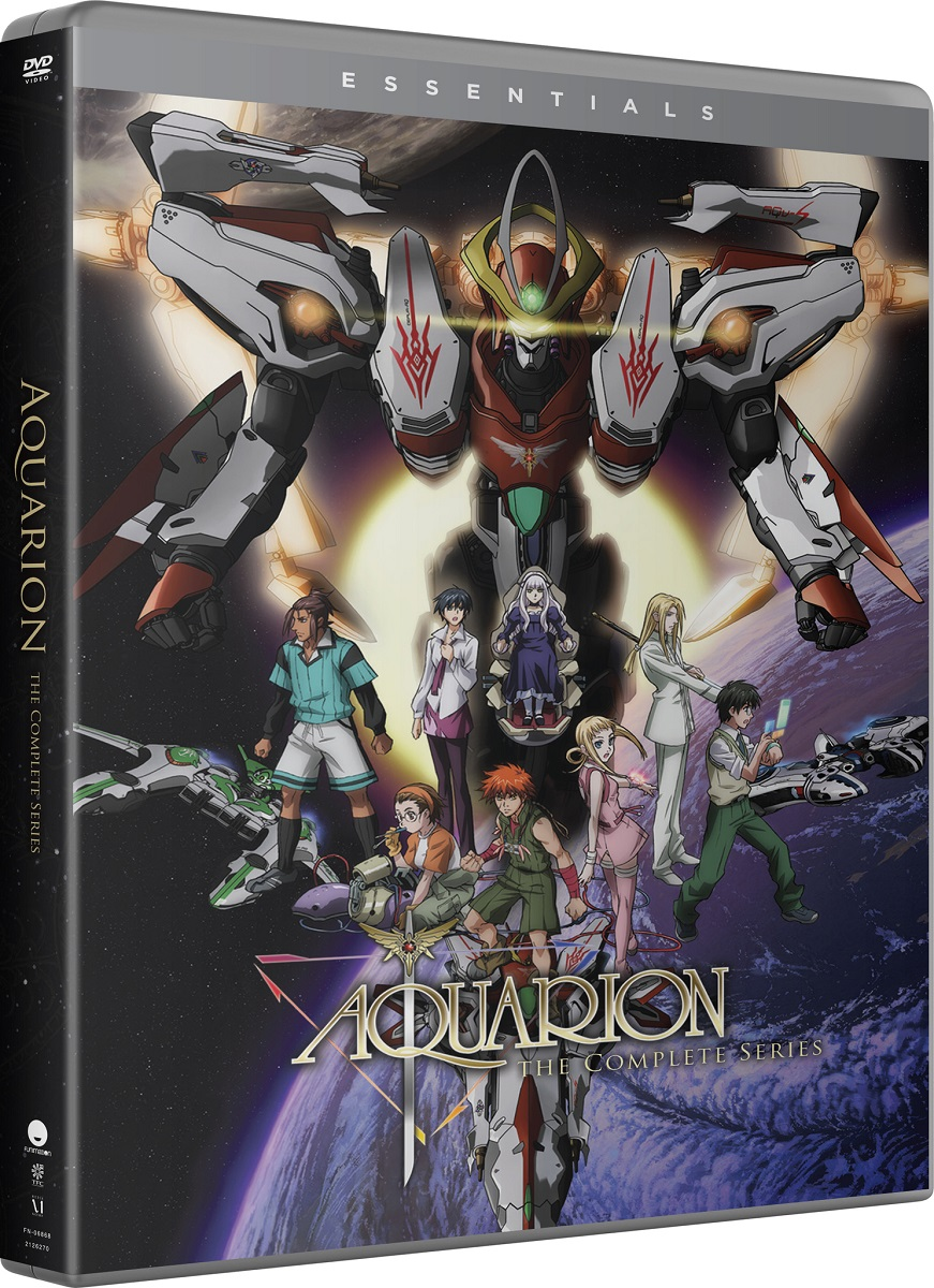 Aquarion Complete Series Essentials DVD