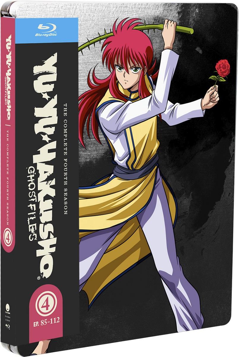 Yu Yu Hakusho Season 4 Steelbook Blu-ray