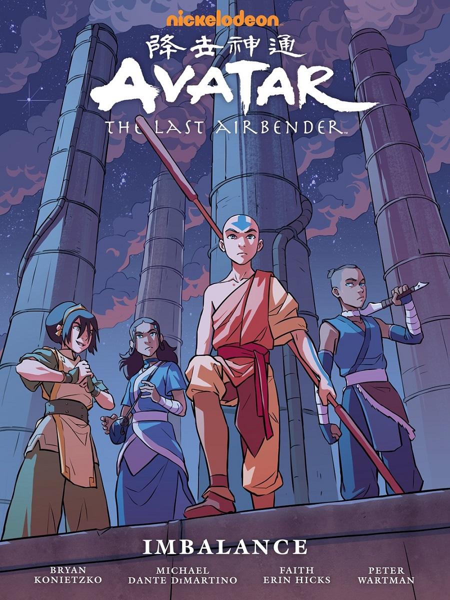 Avatar The Last Airbender Imbalance Manga Library Edition (Hardcover)
