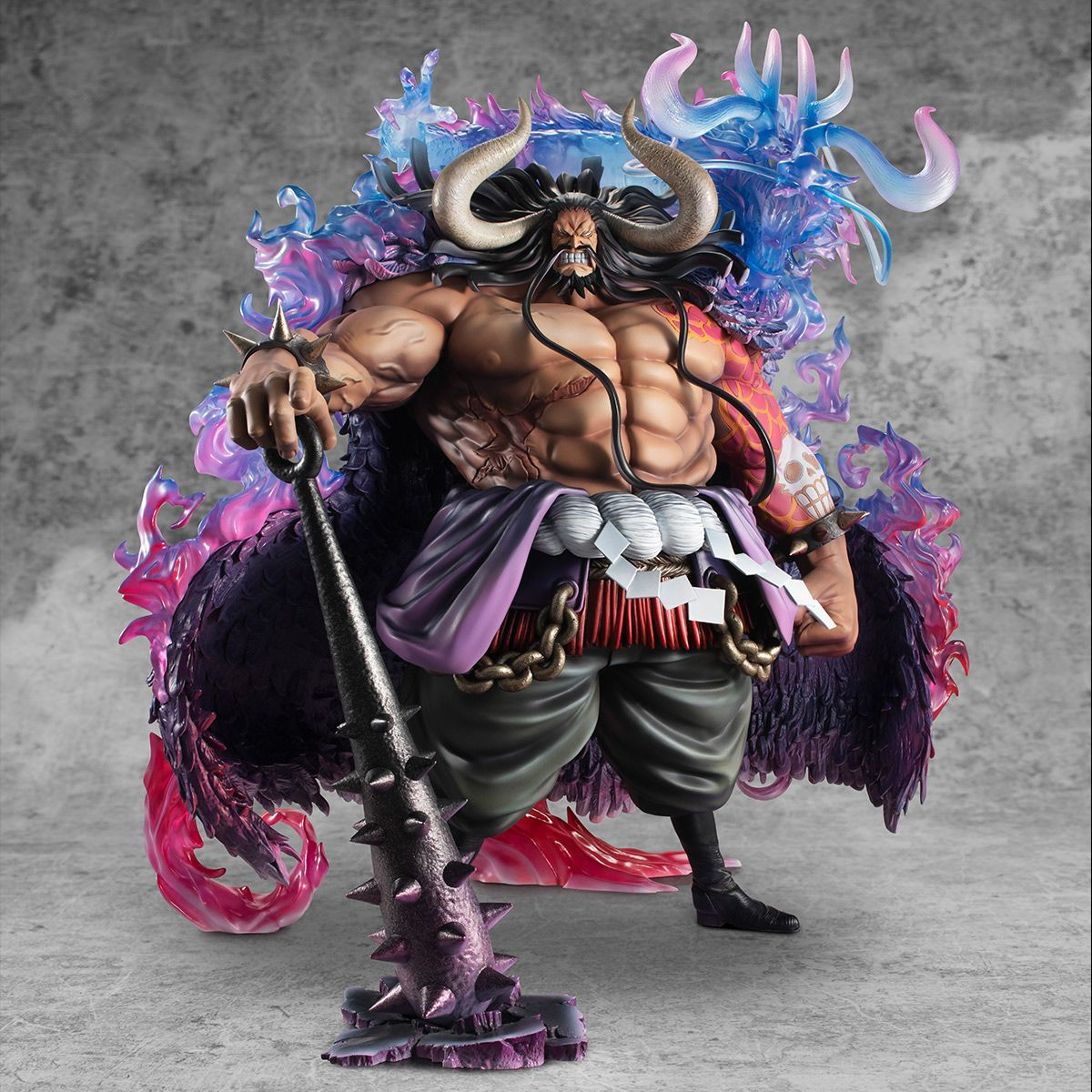 Kaido the Beast Wa-Maximum Ver Portrait Of Pirates One Piece Figure