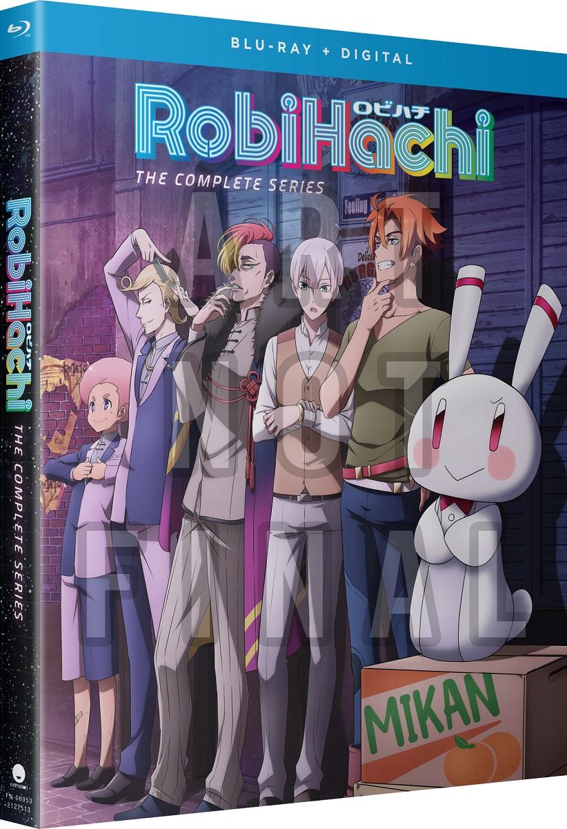 RobiHachi Blu-ray