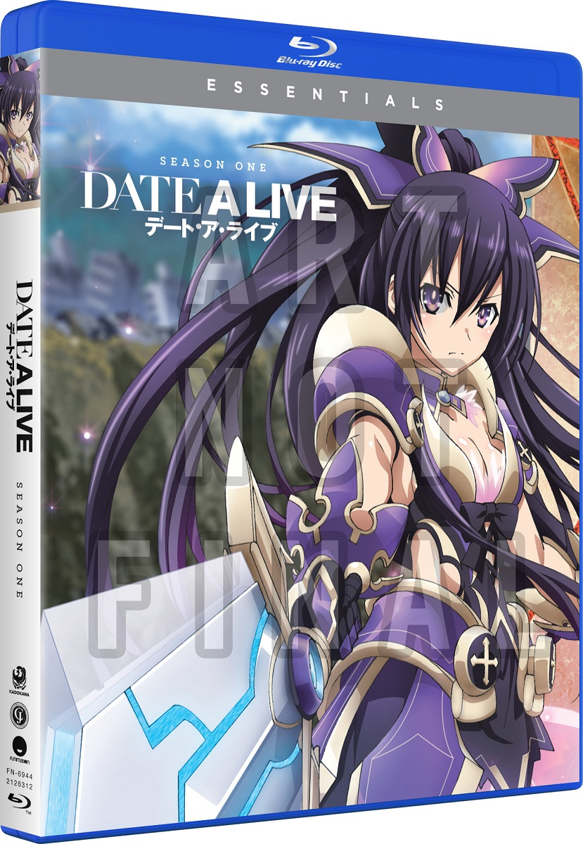 Date A Live Season 1 Essentials Blu-ray