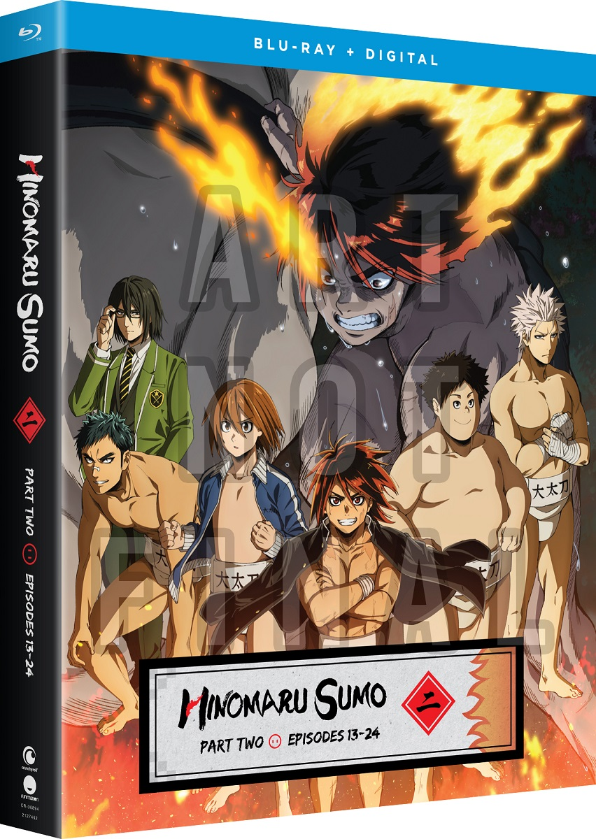 Hinomaru Sumo Part 2 Blu-ray