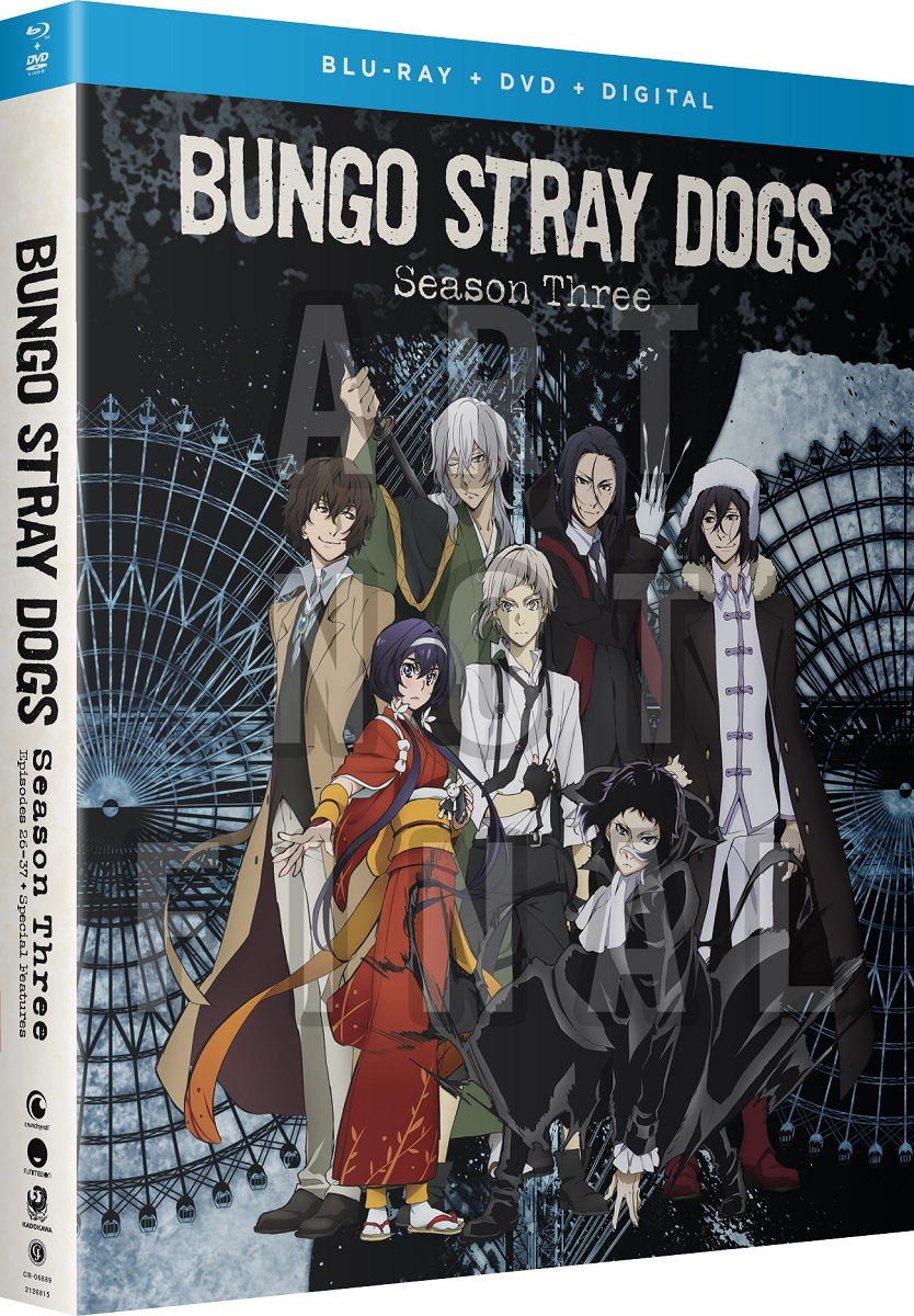 Bungo Stray Dogs Season 3 Blu-ray/DVD
