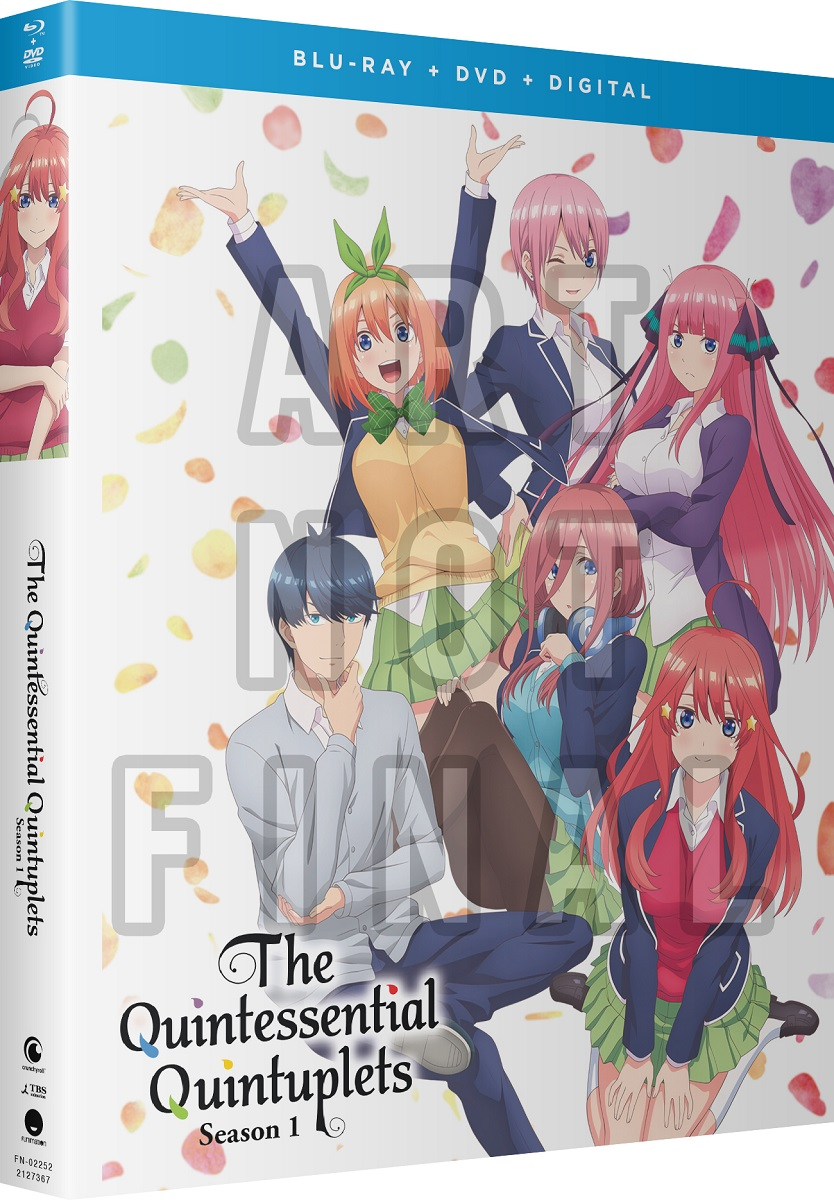 The Quintessential Quintuplets Season 1 Blu-ray/DVD
