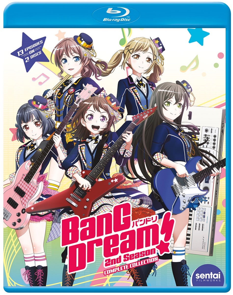 BanG Dream! Season 2 Blu-ray