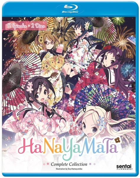 Hanayamata Blu-ray