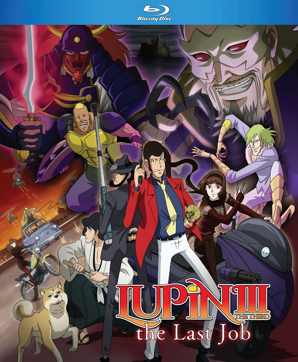 Lupin the 3rd The Last Job Blu-ray