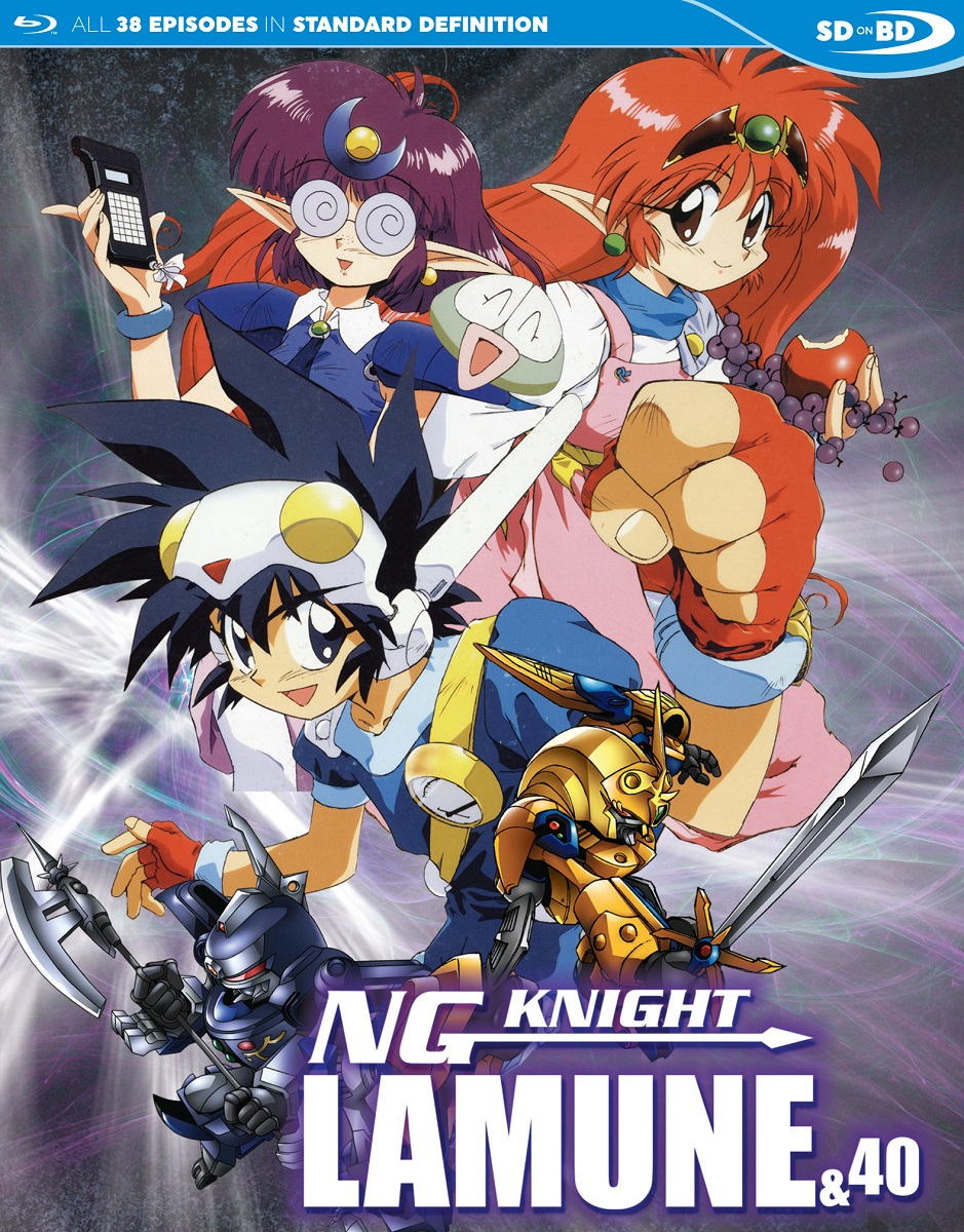 NG Knight Lamune & 40 Blu-ray