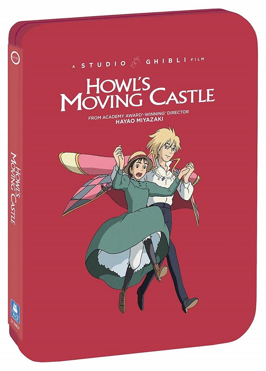 Howls Moving Castle Steelbook Blu-ray/DVD