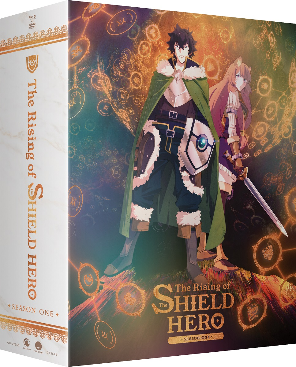 The Rising of the Shield Hero Season 1 Part 1 Limited Edition Blu-ray/DVD
