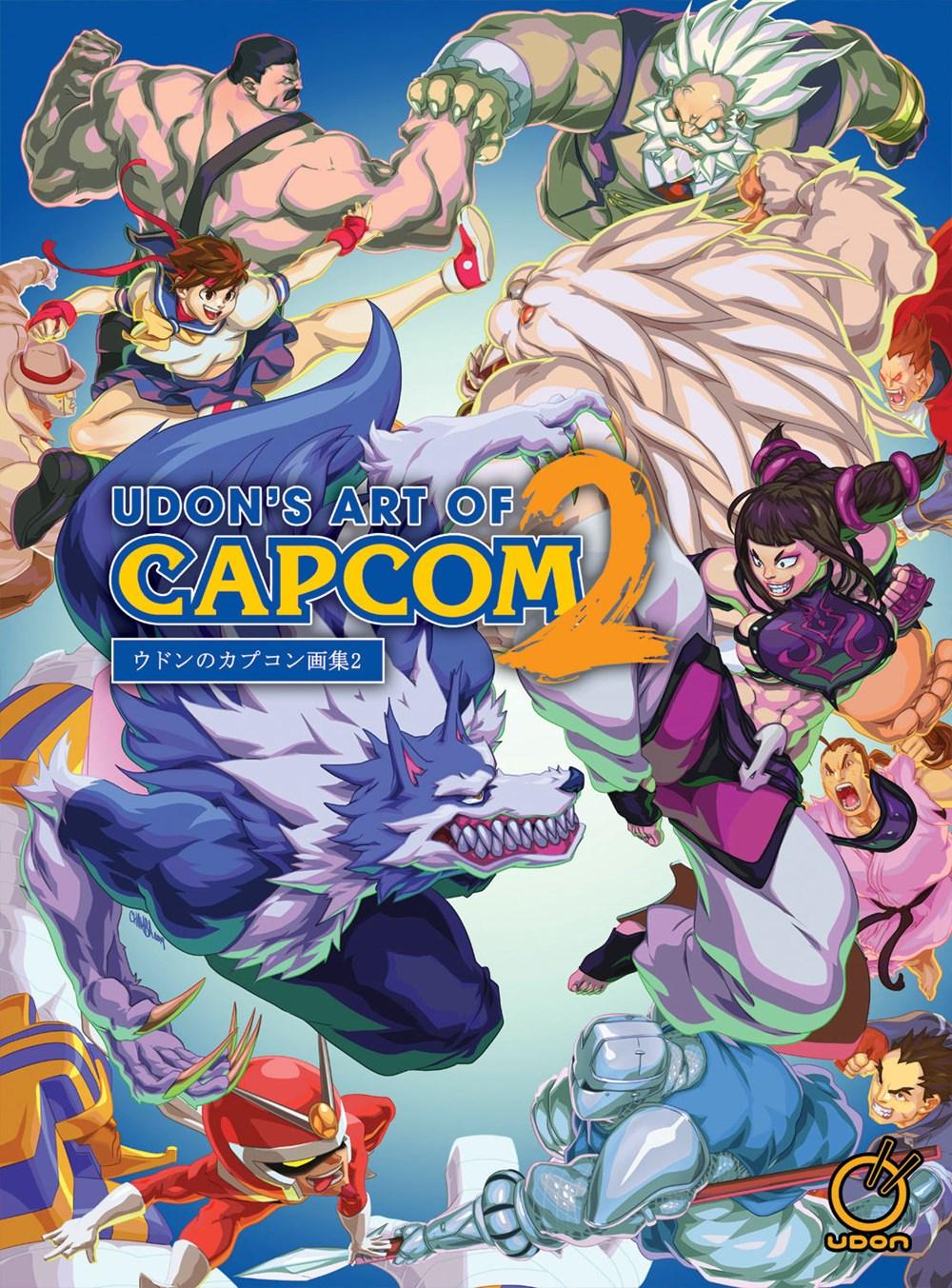 Udons Art of Capcom Volume 2 Artbook (Hardcover)
