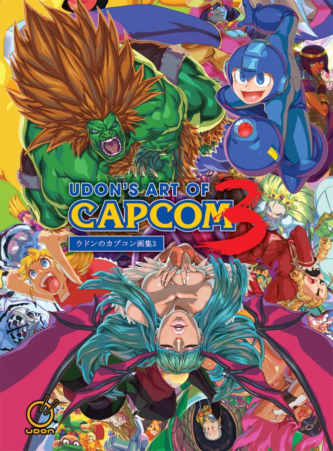 Udons Art of Capcom Volume 3 Artbook (Hardcover)