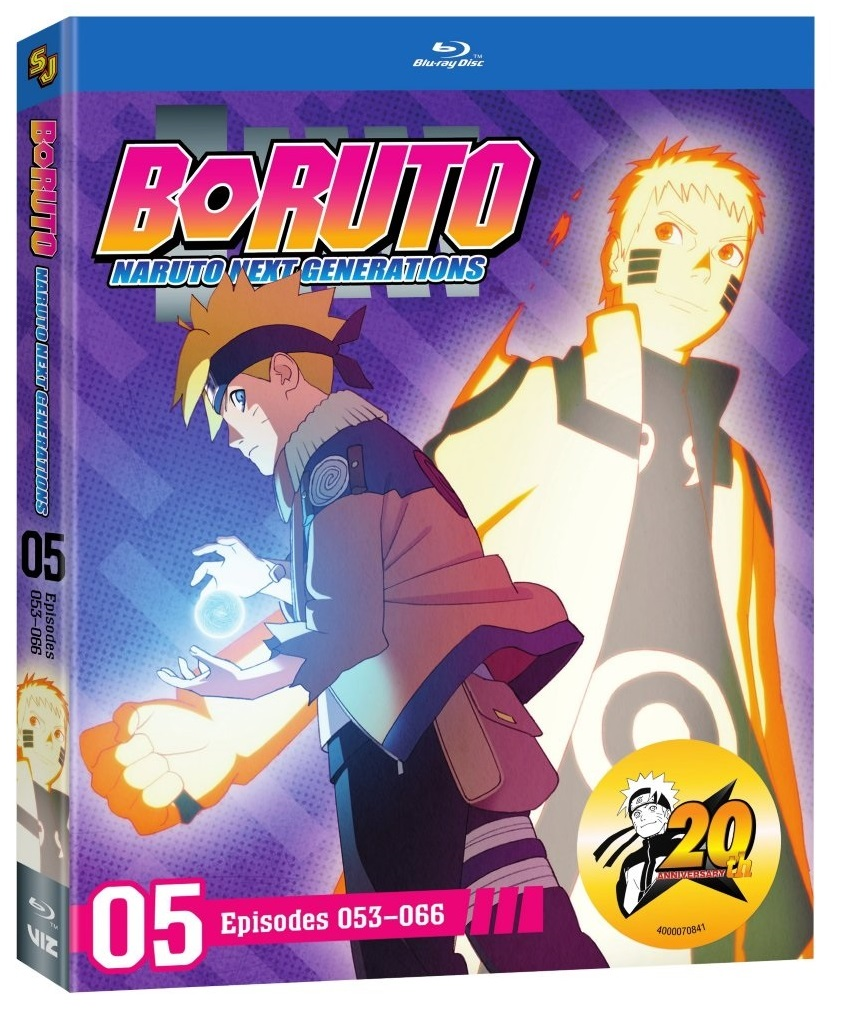 Boruto Naruto Next Generations Set 5 Blu-ray