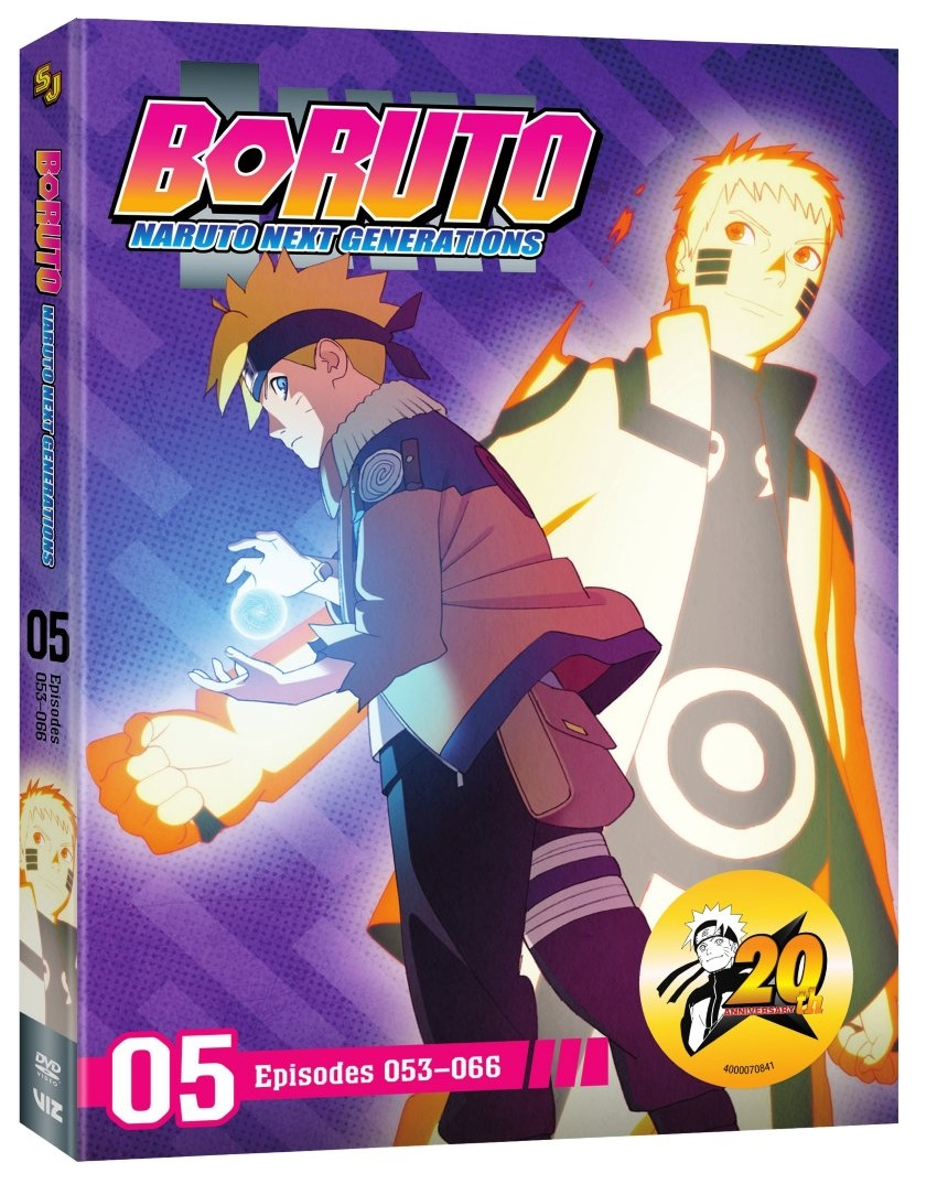 Boruto Naruto Next Generations Set 5 DVD