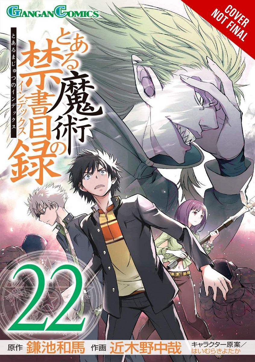 A Certain Magical Index Manga Volume 22