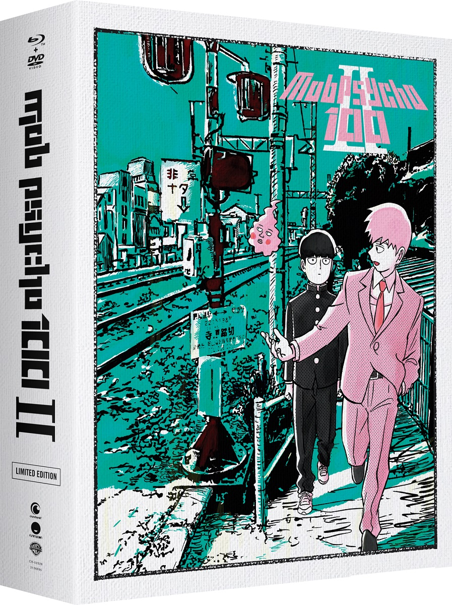 Mob Psycho 100 II Limited Edition Blu-ray/DVD