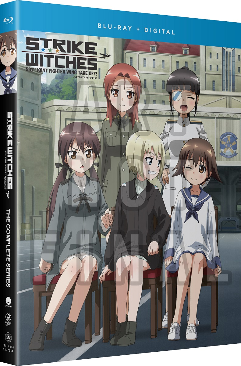 Strike Witches 501st Joint Fighter Wing Take Off! Blu-ray